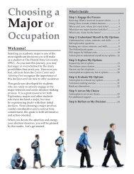 Choosing a Major - The Career Center - Florida State University