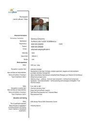 SANGIORGI EMANUELE - IZS della Lombardia e dell'Emilia Romagna