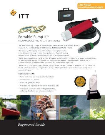 Portable Pump Kit - Xylem Flow Control