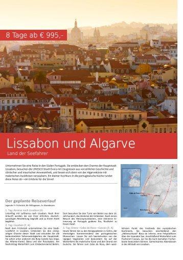 Lissabon und Algarve