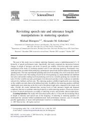 Revisiting speech rate and utterance length ... - ResearchGate