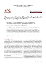 Characteristics of Hafnium Silicate Films Deposited on Si by Atomic ...