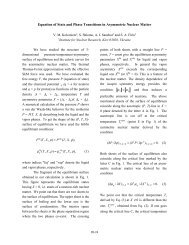 Equation of State and Phase Transitions in Asymmetric Nuclear Matter