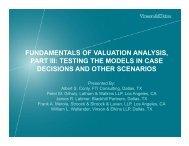 Valuation Boot Camp - Vinson & Elkins LLP