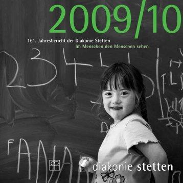 161. Jahresbericht der Diakonie Stetten Im Menschen den ...