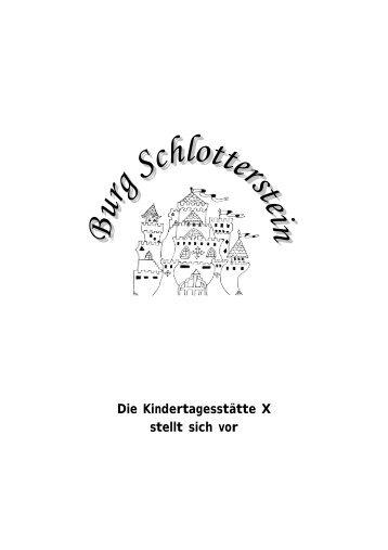 Infobroschüre 2012 der KiTa 10 - Burg-Schlotterstein e.V.