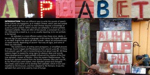 An Urban Alphabet - Mattonbutiken