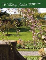 Old Westbury Gardens Spring 2012 CALENDAR OF EVENTS