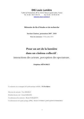 Téléchargement de l'intégralité du mémoire - Ecole nationale ...