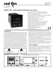 Red Lion Controls IMP23167 Model IMP Apollo Intelligent Process Meter