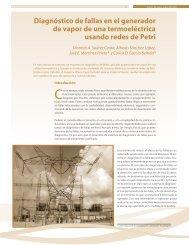 Diagnóstico de fallas en el generador de vapor - Instituto de ...