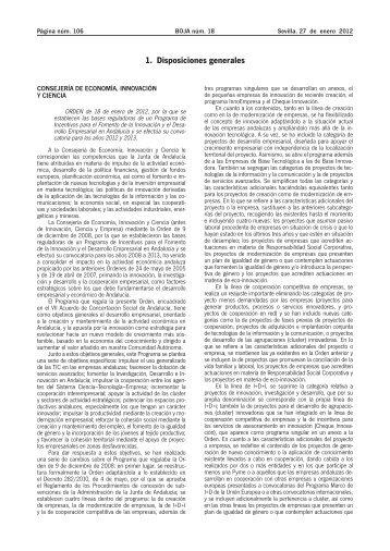 1. Disposiciones generales - Confederación de Empresarios de ...