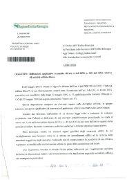 Circolare regionale sull'attività edilizia libera - Territorio - Regione ...