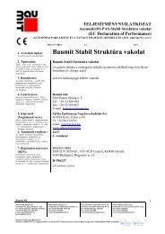 Stabil Struktúra vakolat - TNy - Baumit