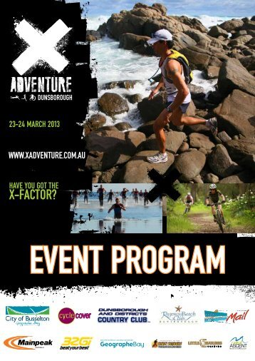 2013 X-Adventure Dunsborough event program ... - Rapid Ascent