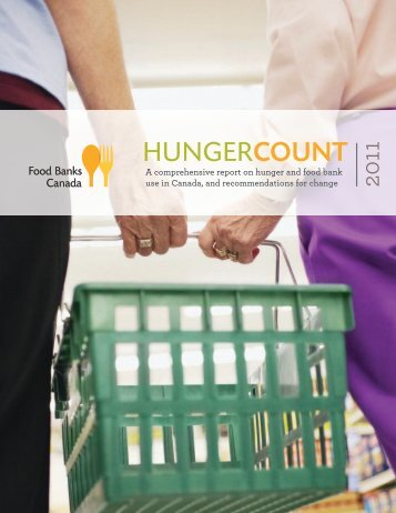 HungerCount 2011 - Food Banks Canada
