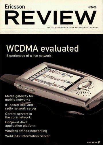 WCDMA evaluated - ericssonhistory.com