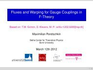 Fluxes and Warping for Gauge Couplings in F-Theory