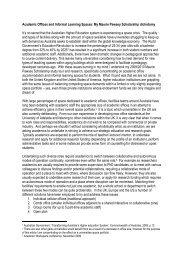 Backstrom Article - Tertiary Education Facilities Management ...