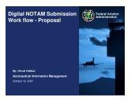 Digital NOTAM Submission Work flow - Proposal - NFDC