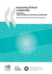 Improving School Leadership - Leadership Academy