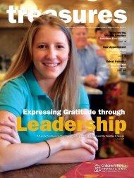 Expressing Gratitude through - Children's Mercy Hospitals and Clinics