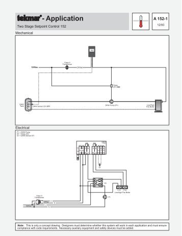 Tekmar 152 Application Brochure