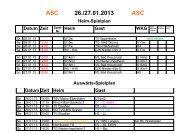 Heim-Spielplan ASC Theresianum Mainz