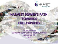 harvest power's path towards full capacity - Compost Council of ...