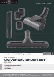 universal brush-set basic - BOB HOME