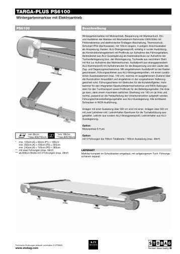 TARGA-PLUS PS6100 - Schmid Storen AG