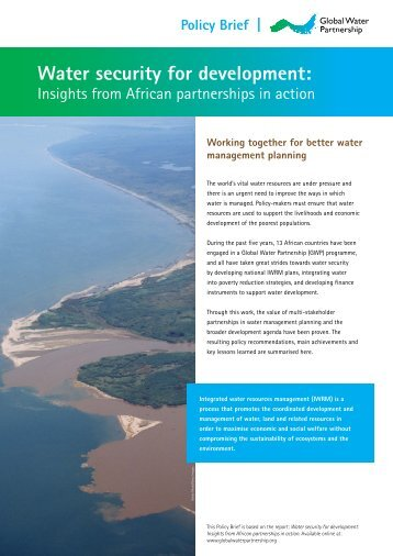 Policy Brief - Global Water Partnership