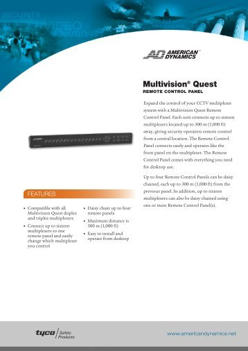 Multivision® Quest - IP CCTV GmbH