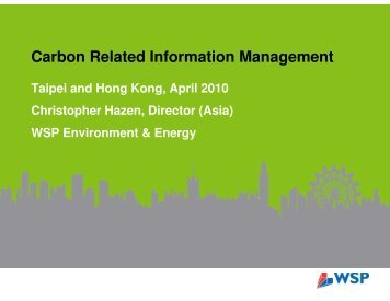Carbon Related Information Management