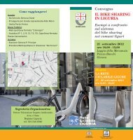 Convegno - Il bike sharing in Liguria - Urban Center - Comune di ...