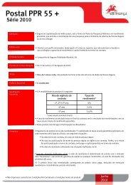 Ficha Produto Postal PPR 55 Série 2010 SITE - CTT