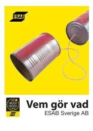 ESAB Sverige AB
