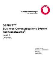 DEFINITY ECS 6 overview.pdf - TextFiles.com