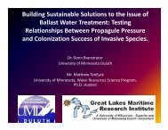 Building Sustainable Solutions to the Issue of Ballast Water ...