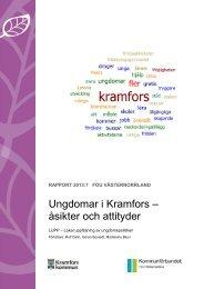 Ungdomar i Kramfors – åsikter och attityder - FoU Västernorrland