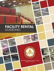 Building Rental Guidelines - Center Grove Community School ...