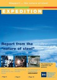 EXPEDITION - Stappert Spezial-Stahl Handel GmbH