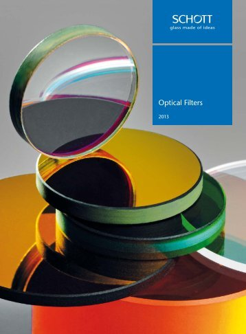 Optical Filters 2013 - SCHOTT North America