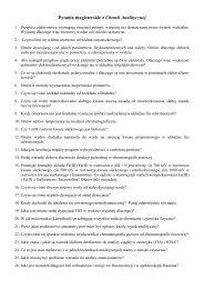 Pytania magisterskie, z wykladow, do cwiczen z elektrochemii i ...