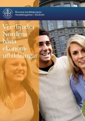 utbildningar - Handelshögskolan i Stockholm
