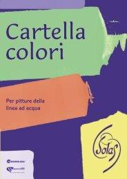 cartella colori - Solas