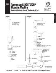 SHORTSTOPP® 500 8 Inch Data Sheet - T.D. Williamson, Inc.