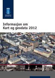 Informasjon om Kart og geodata 2012 - Drammen kommune