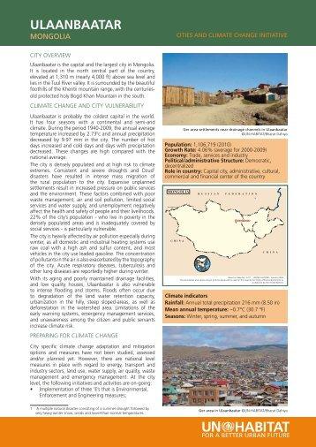 Ulaanbaatar CCCI Overview (May 2010) (PDF 6.7MB)