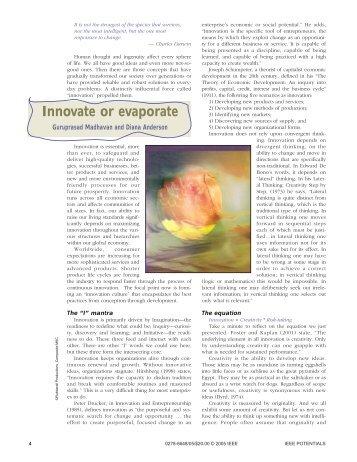 Innovate or evaporate - Binghamton University